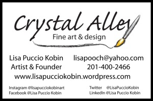 Business Card Template Crystal Alley
